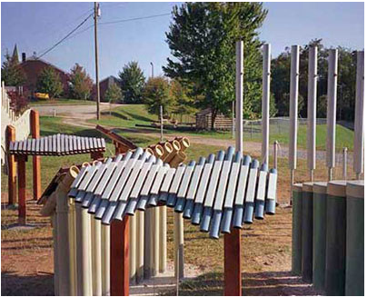 playground musical instruments xylophone