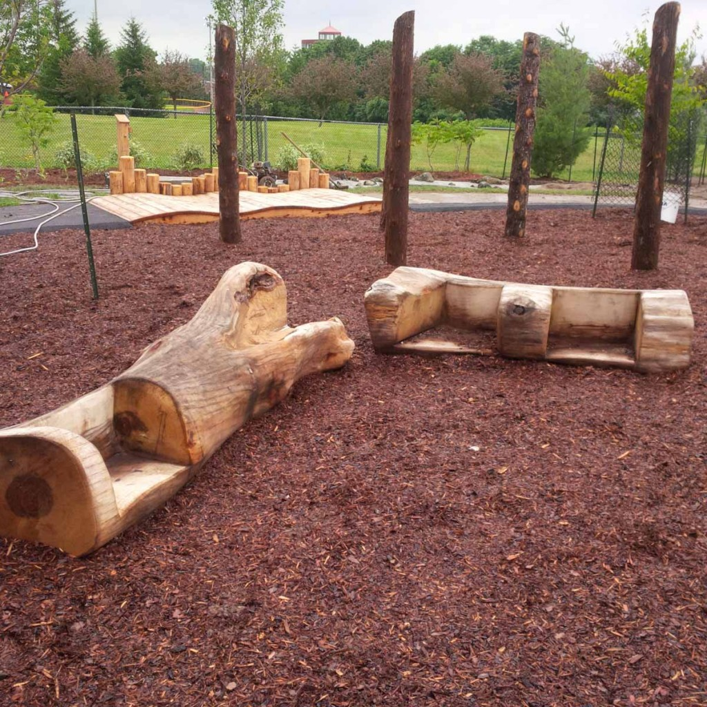 theme playground benches
