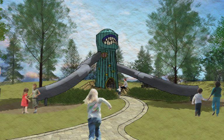 Becca Space Girl Playground Design