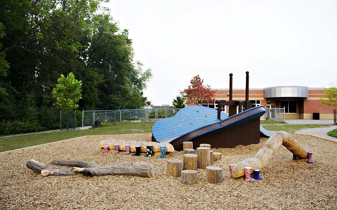 Millen Woods Natural Playground Equipment Earthscape