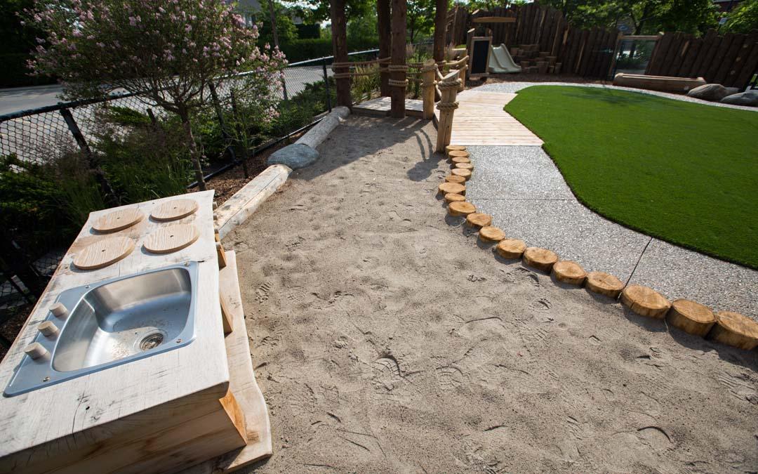 Oakville-natural-playground outdoor ktichen