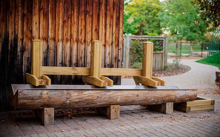 nature playground water