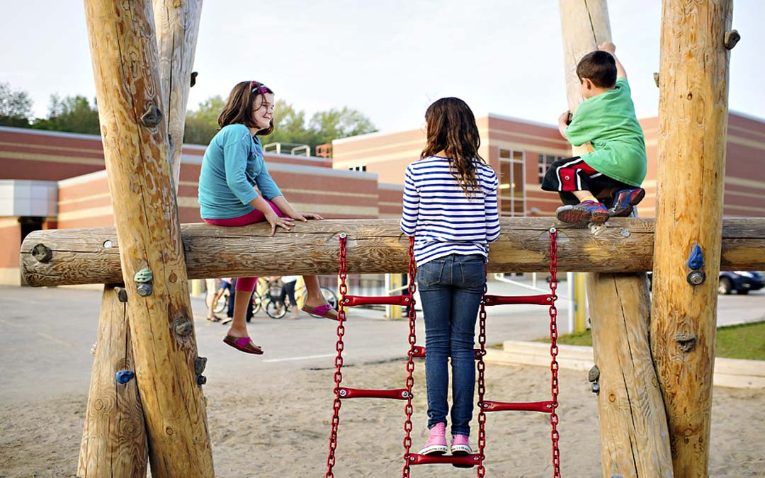 Elementary Classroom Ideas ~ Millen woods natural playground equipment earthscape