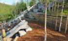 playground governors island slide stone wood