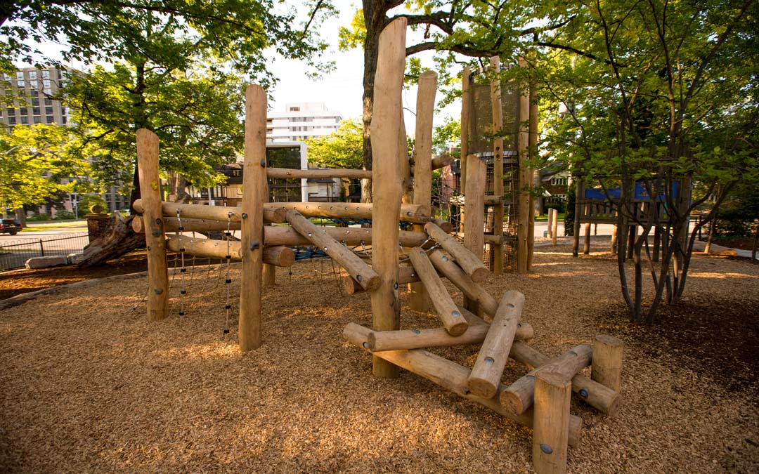 Robinia Wood Playground Earthscape Play