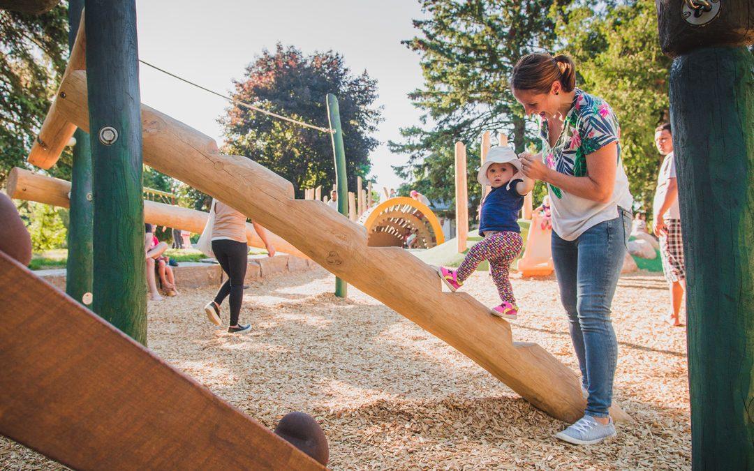climber children playground playspace challange