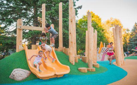 hillslide guelph playground ontario canadian natural