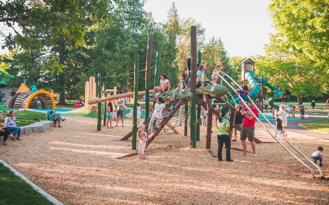 natural playground imaginative play ontario park play space