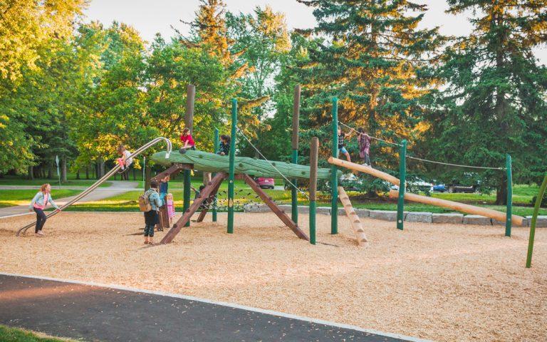 playground water strider riverside park guelph