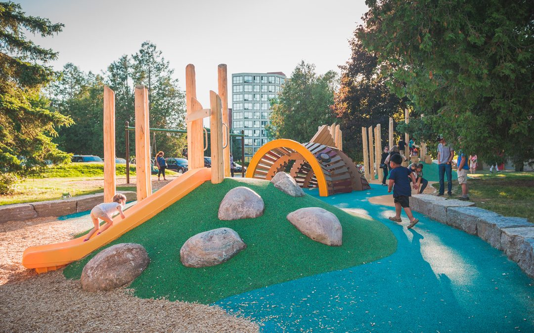 riverside park guelph playground accessible inclusive design natural space