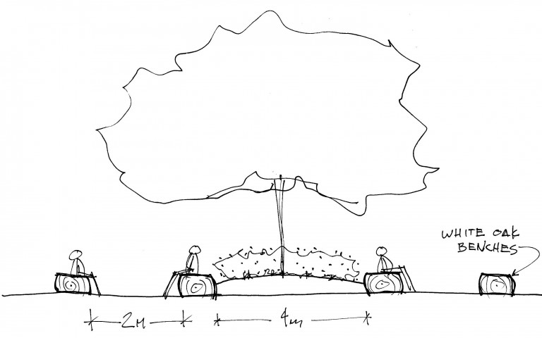 central seating sketch