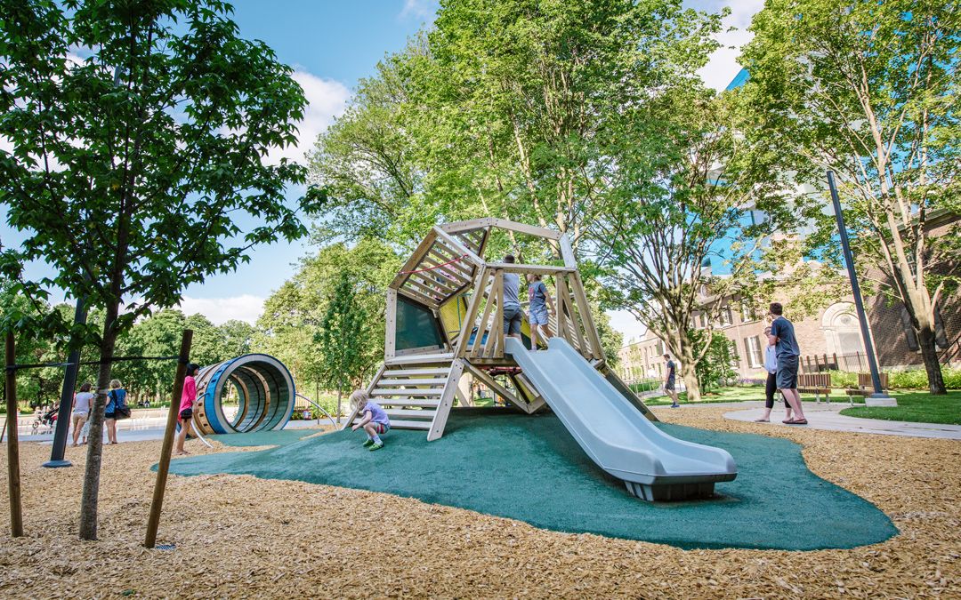 Custom playground Grange Park art gallery of ontario