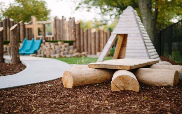 childcare playground hut