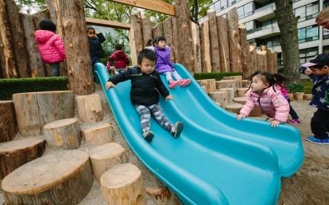 childcare slide