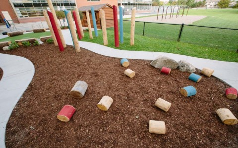 natural daycare playground