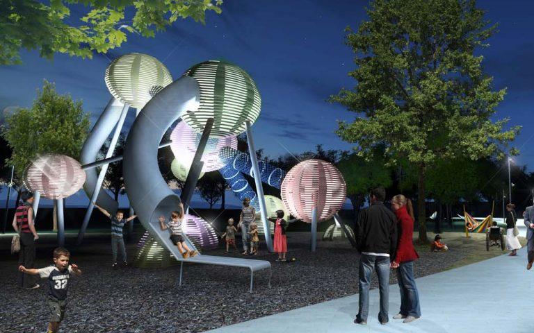 playground design structure science best custom