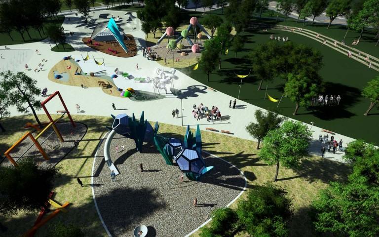 Summer Overview playground design structure science best custom