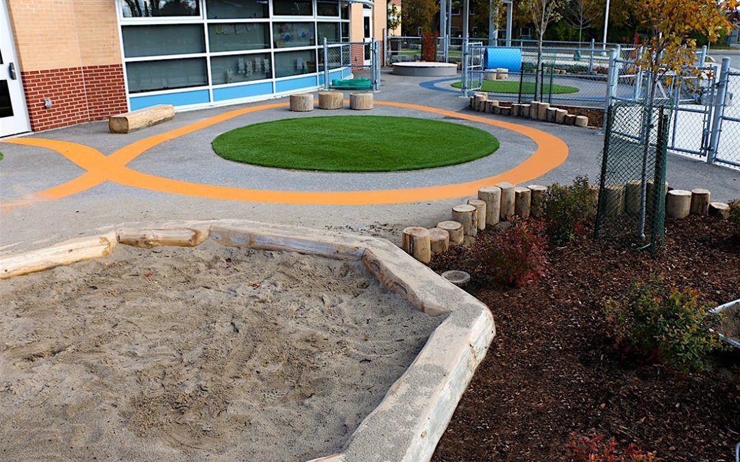 natural playground garderie turf track