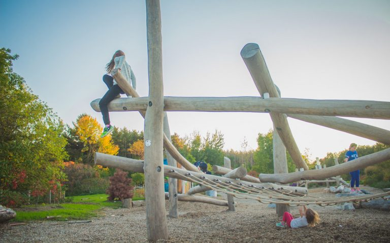 log jam play active climb