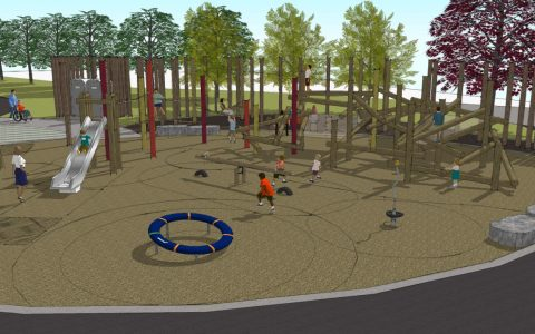 playspace design log iroquois