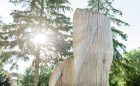 wood carving playground natural creative