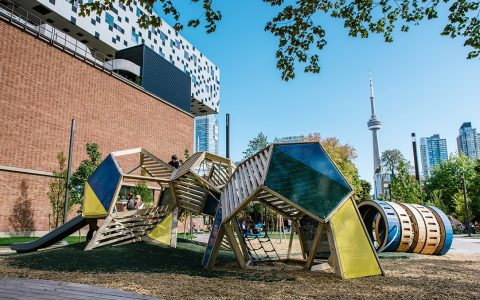 art gallery ontario playground sculpture toronto play structure