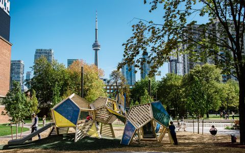 grange park toronto cn tower sculpture