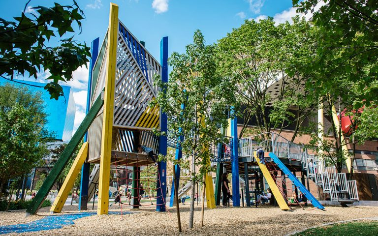grange park toronto ocad tower play