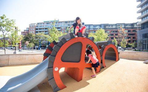 lisgar park gear wood sculpture