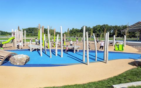 William Connell custom nature playground