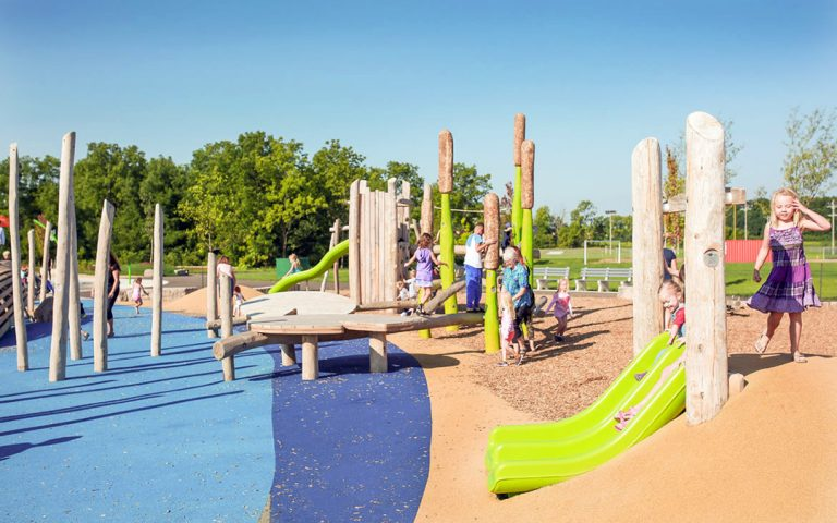 William Connell custom timber playground