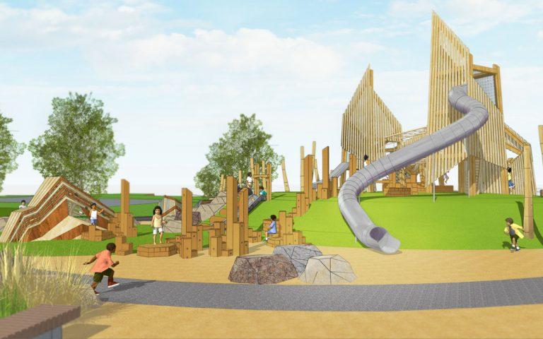 sasktatoon playground custom wood adventure play