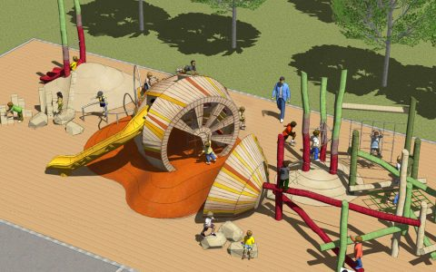 streets park sugar beet themed playground colorado wood natural play