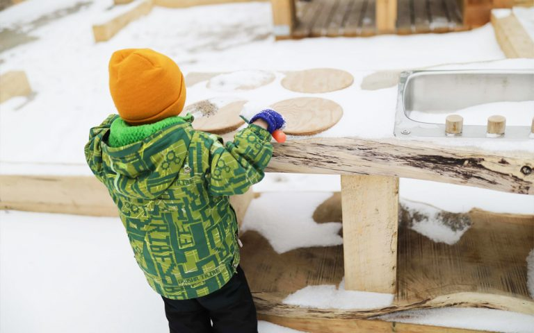 todays family ontario natural wood playground outdoor play kitchen