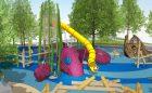 marine themed destination playground Florida pier kraken tower shipwreck