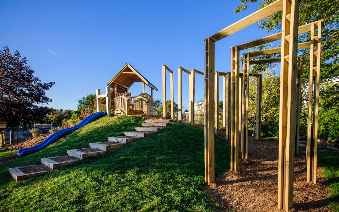 custom natural playground ottawa