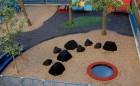 Toronto natural playground trampoline