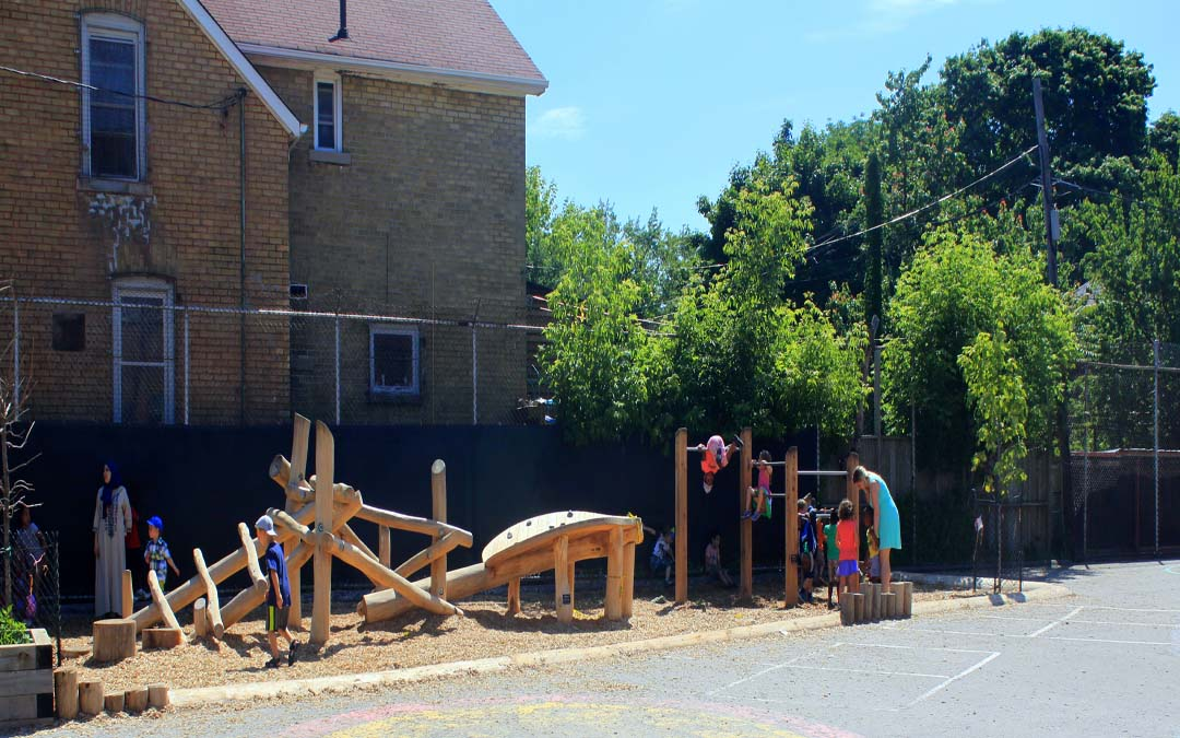 toronto log playground