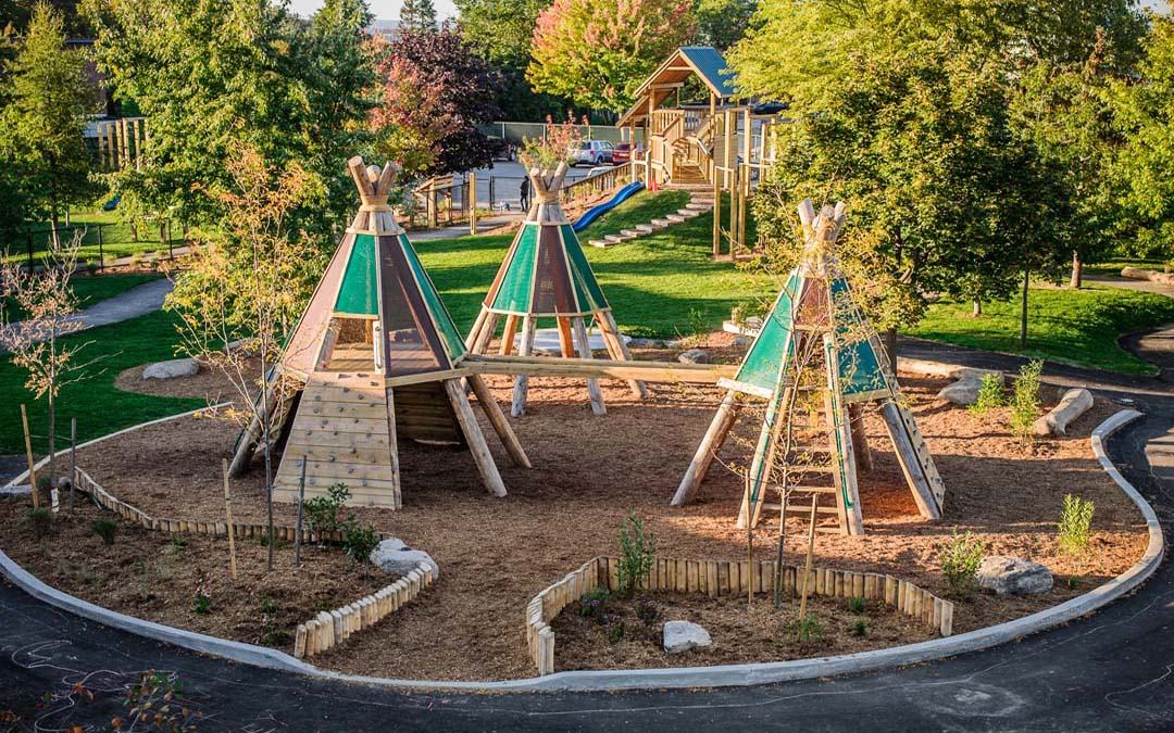 Natural Playground Ideas Play Structures