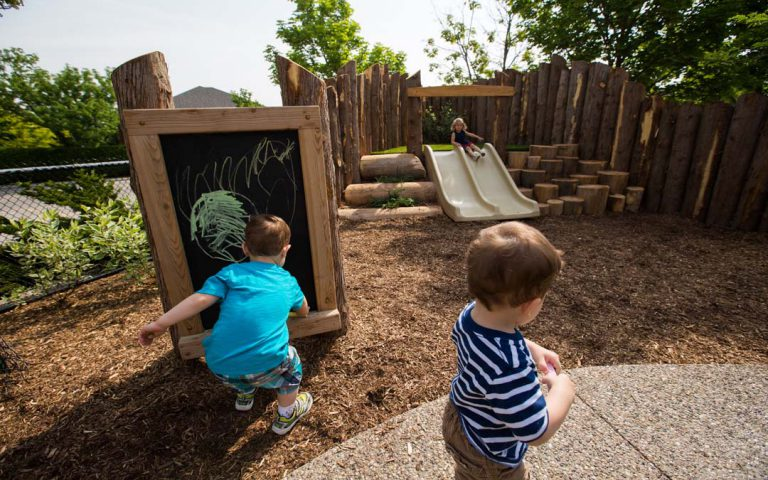Oakville-natural-playground chalkboard