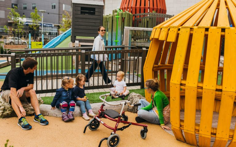 therapeutic playground accessible