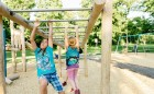 custom wood playground robinia