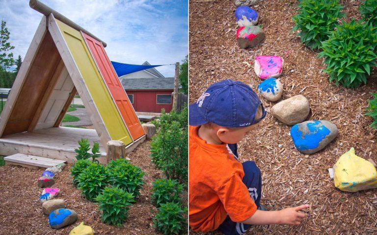 kinsmen playground hut