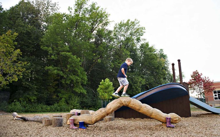millen woods natural playground