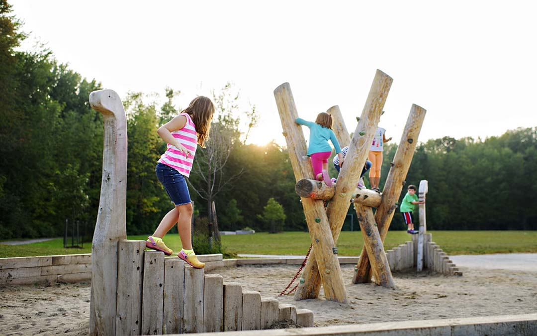 natural playground custom design waterloo