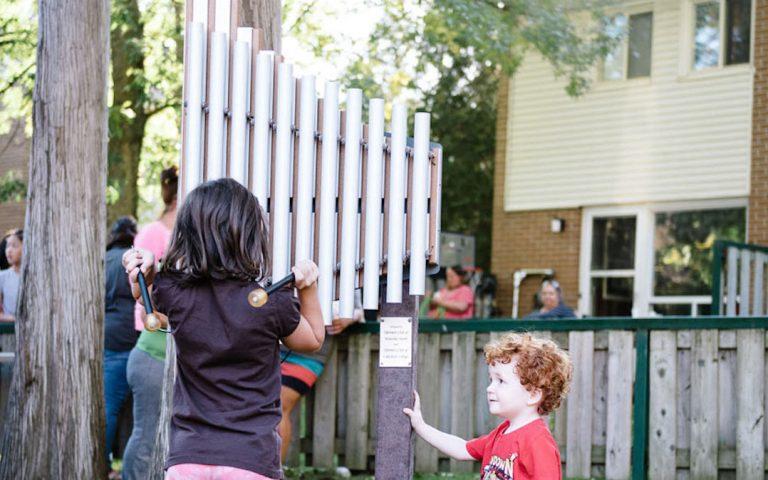 play music playground