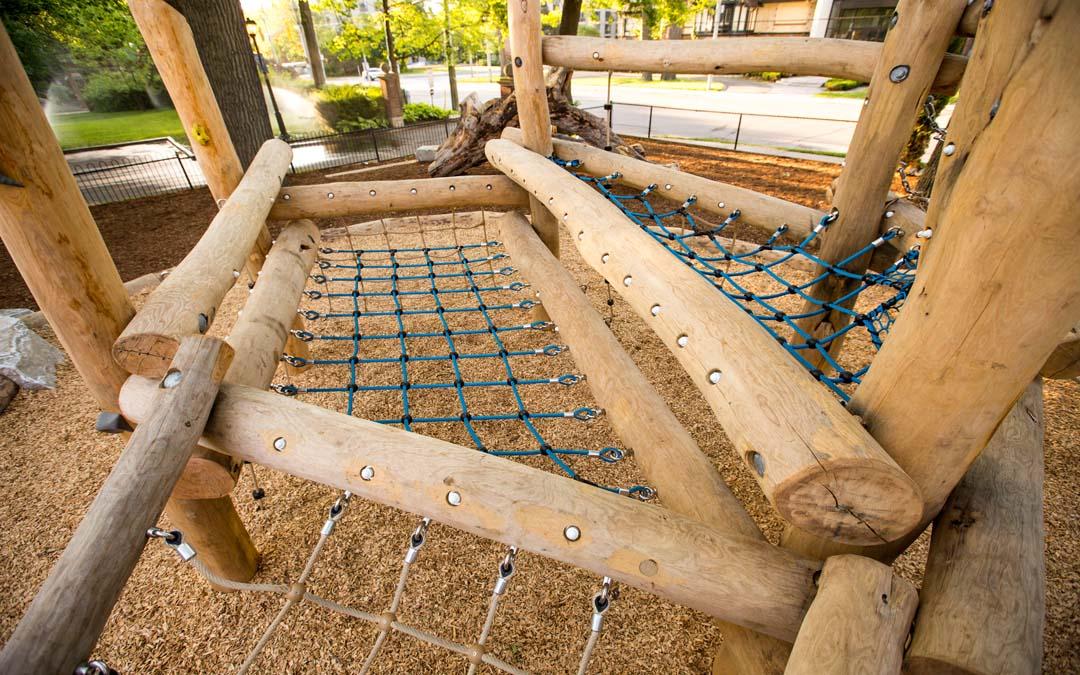 robinia rope playground