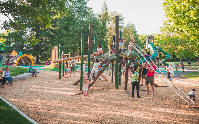 natural playground imaginative play ontario park play space