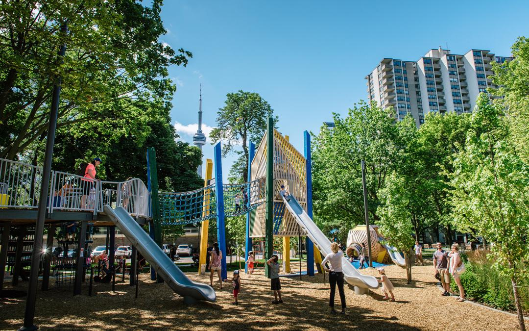 Toronto playground AGO OCAD art gallery of ontario Grange Park