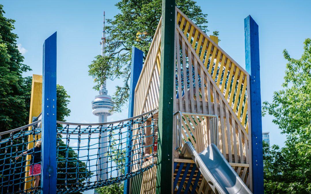 Toronto playground ago ocad art gallery ontario